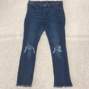 Express, Size 16S, SkyScraper High Rise Jean
